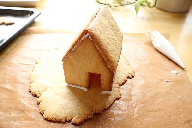 クッキーの家を作る