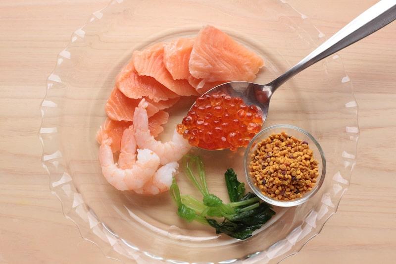 ちらし寿司の材料