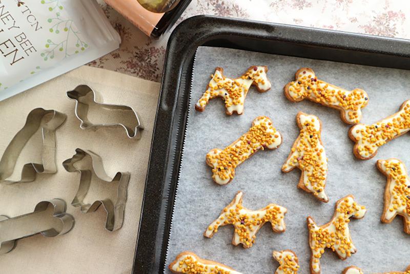 みつばち花粉クッキー